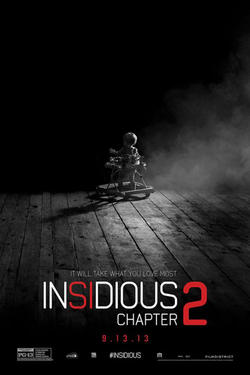 "Poster art for ""Insidious: Chapter 2."""