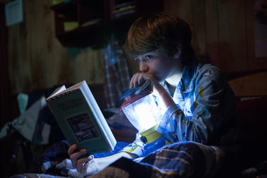 "Ty Simpkins as Dalton Lambert in ""Insidious: Chapter 2."""