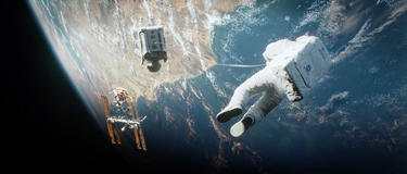 """A scene from """"Gravity."""""""