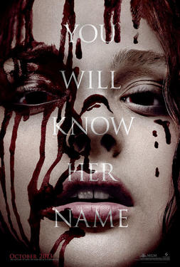 "Poster art for ""Carrie."""