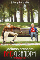 "Poster art for ""Jackass Presents: Bad Grandpa."""