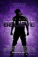 Poster for Justin Bieber's Believe