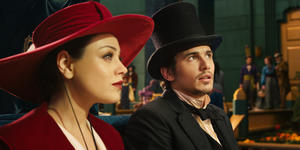 "Mila Kunis and James Franco in ""Oz: The Great and Powerful."""
