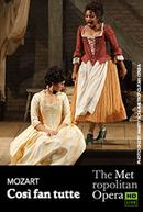 Poster for The Metropolitan Opera: Così fan tutte