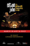 Poster for Elton John: The Million Dollar Piano
