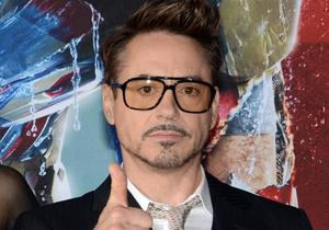 Robert Downey Jr shares first Avengers 2 photo