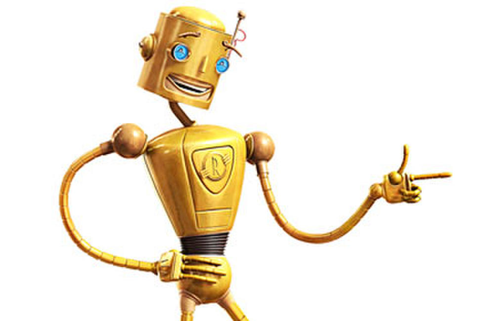 voice of the robot in meet robinsons