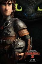 "Poster art for ""How to Train Your Dragon 2."""