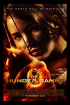"Poster art for ""The Hunger Games."""