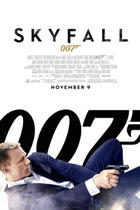 "Poster art for ""Skyfall."""