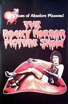 "Poster art for ""The Rocky Horror Picture Show."""