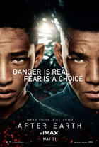 "Poster art for ""After Earth."""