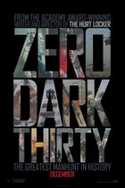 "Poster art for ""Zero Dark Thirty."""
