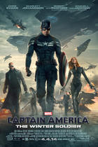 "Poster art for ""Captain America: The Winter Soldier."""
