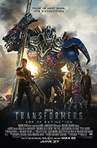 "Poster art for ""Transformers: Age of Extinction."""