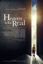 "Poster art for ""Heaven Is for Real."""