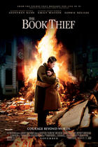 "Poster art for ""The Book Thief."""