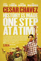 "Poster art for ""Cesar Chavez""."