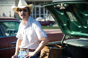 "Matthew McConaughey in ""Dallas Buyers Club."""