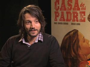Exclusive: Casa De Mi Padre - Diego Luna Interview