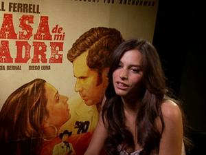 Exclusive: Casa De Mi Padre - Genesis Rodriguez Interview