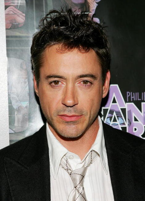 Robert Downey, Jr. at a N.Y. screening of