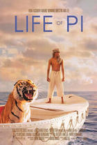 "Poster art for ""Life of Pi."""