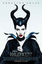 "Poster art for ""Maleficent."""