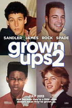 "Poster art for ""Grown Ups 2."""