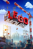 "Poster art for ""The LEGO Movie."""