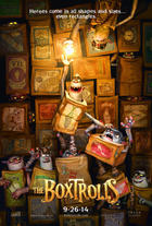 "Poster art for ""The Boxtrolls."""