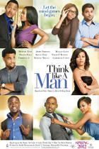 "Teaser poster art for ""Think Like a Man."""