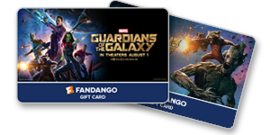 Guardians of the Galaxy Gift Cards