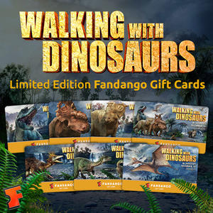 'Walking with Dinosaurs' Fandango Digital Gift Card Giveaway