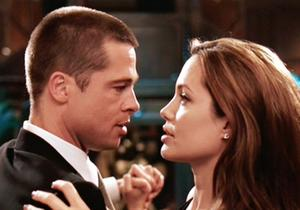 Brad Pitt and Angelina Jo