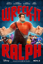 "Poster art for ""Wreck-It Ralph."""