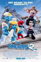 "Poster art for ""The Smurfs 2."""