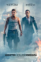 "Poster art for ""White House Down."""
