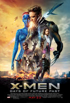 "Poster art for ""X-Men: Days of Future Past."""