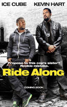 "Poster art for ""Ride Along."""