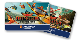 Disney Planes Movie Gift Cards