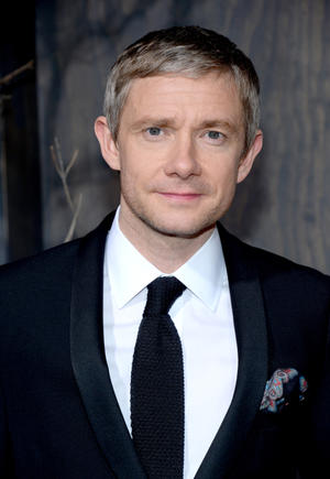 "Martin Freeman at the California premiere of ""The Hobbit: The Desolation of Smaug."""