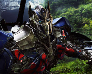 "A scene from ""Transformers: Age of Extinction."""