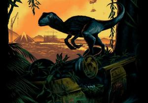 Jurassic World poster Art