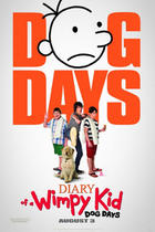 "Poster art for ""Diary of a Wimpy Kid: Dog Days."""