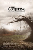 "Poster art for ""The Conjuring."""