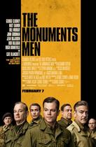 "Poster art for ""The Monuments Men."""