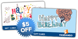 Movie Gift Card Offer