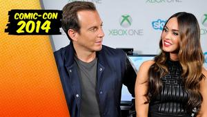 Comic-Con 2014: Megan Fox Tells Us Why She Could Find Bigfoot. Also: Ninja Turtles