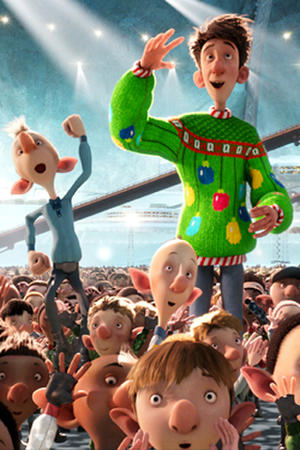 Arthur Christmas Exclusive Photos